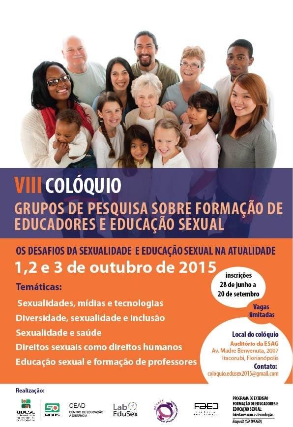 8º Colóquio Grupo de Pesquisa sobre Formação de Educadores e Educação Sexual
