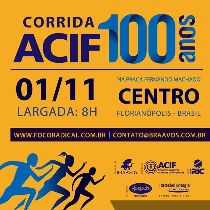Corrida ACIF 100 Anos