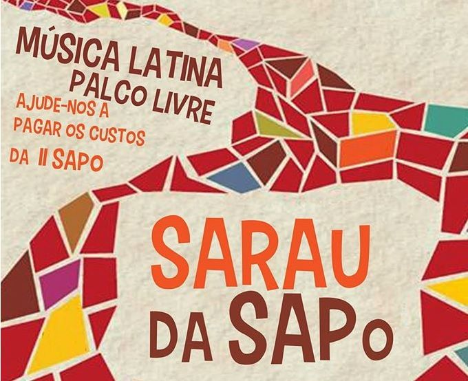Sarau da Sapo, com Música Latina e Palco Aberto