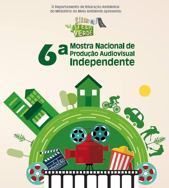 6ª Mostra Nacional de Produção Audiovisual Independente do Circuito Tela Verde Ctv
