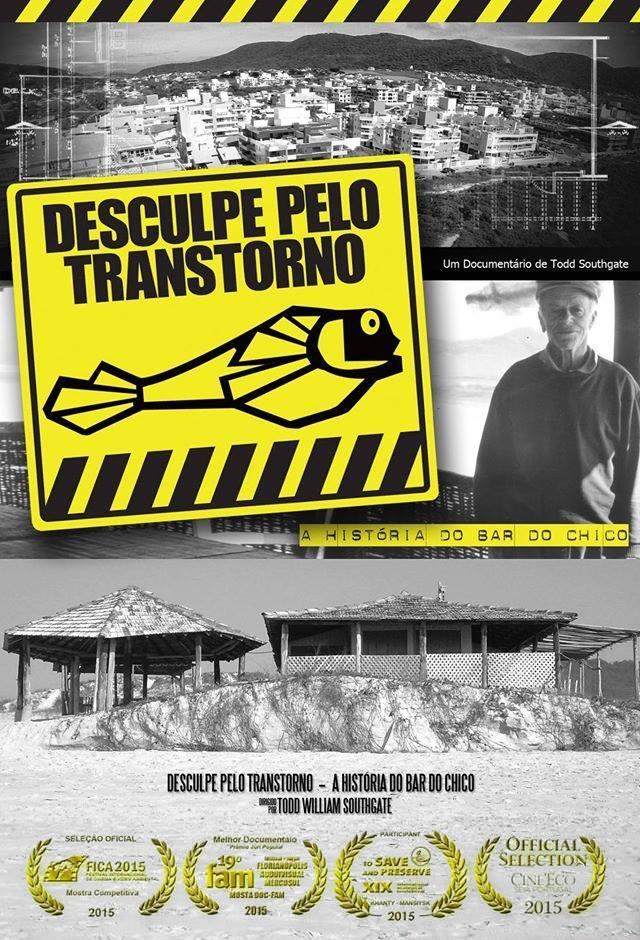 """Exibição do documentário """"Desculpe pelo Transtorno: A História do Bar do Chico"""""""