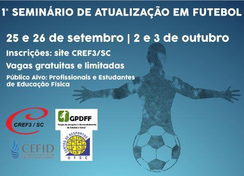 1º Seminário de Atualização em Futebol em Florianópolis