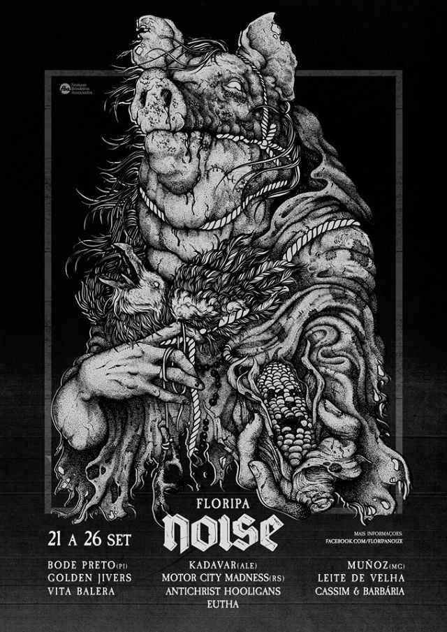Festival Floripa Noise 2015 apresenta shows musicais e Cinema de Boteco