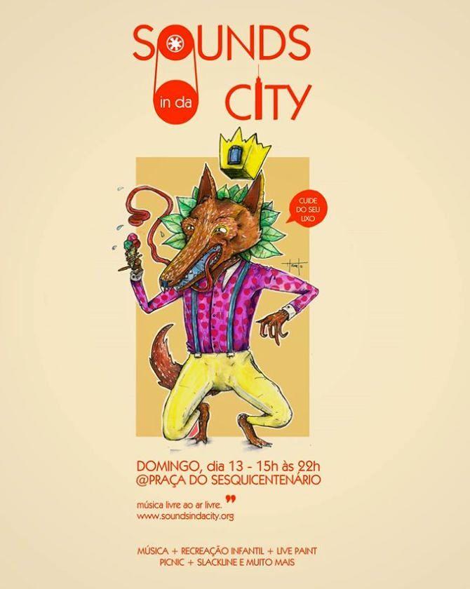 Sounds in da City reúne música, picnic e recreação infantil