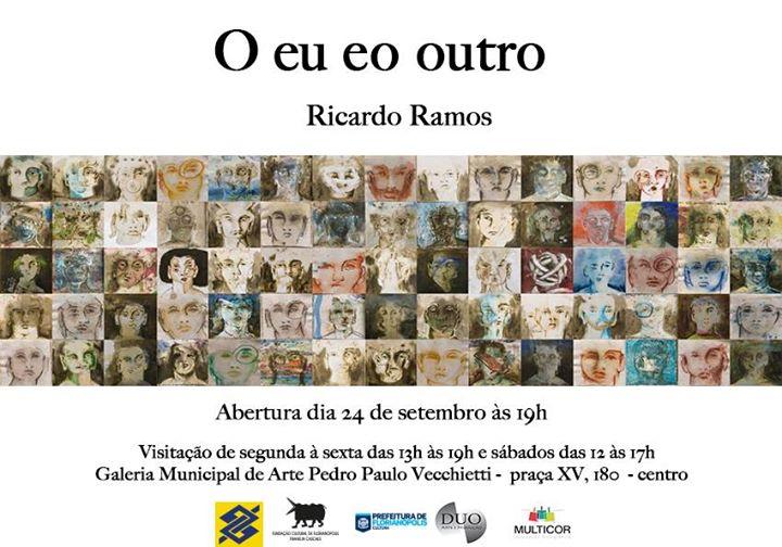 """Exposição """"O eu e o outro"""" de Ricardo Ramos"""