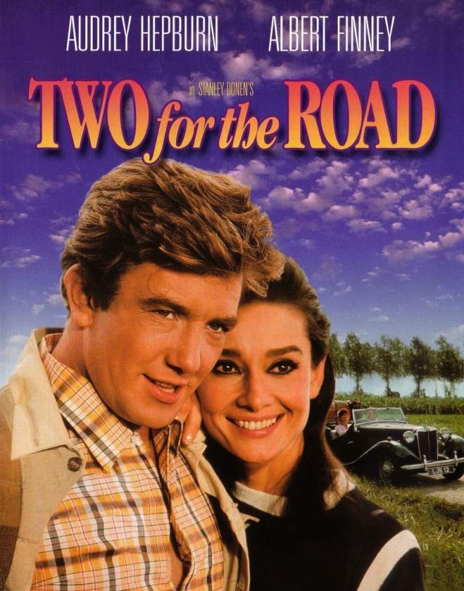 """Mostra de filmes com Audrey Hepburn exibe """"Um caminho para dois"""" (Two for the road, 1967)"""