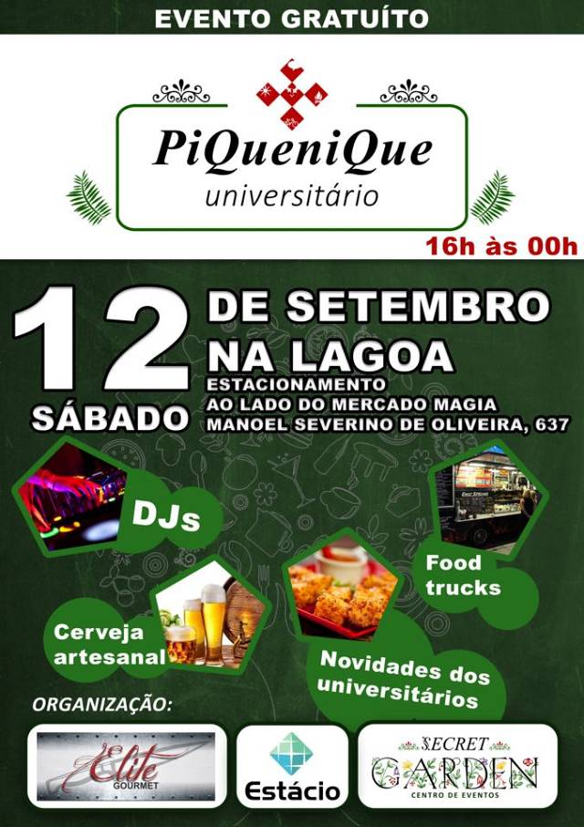 1° Festival Gastronômico Piquenique Universitário
