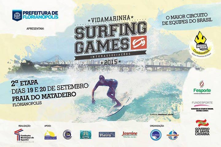 2° Etapa do Vida Marinha Surfing Games Interassociações 2015 - Matadeiro