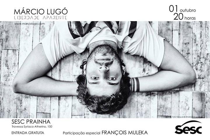 """Márcio Lugó apresenta show gratuito de lançamento do disco """"Liberdade Aparente"""""""