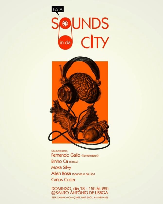 Festa do Sounds in da City em Santo Antônio