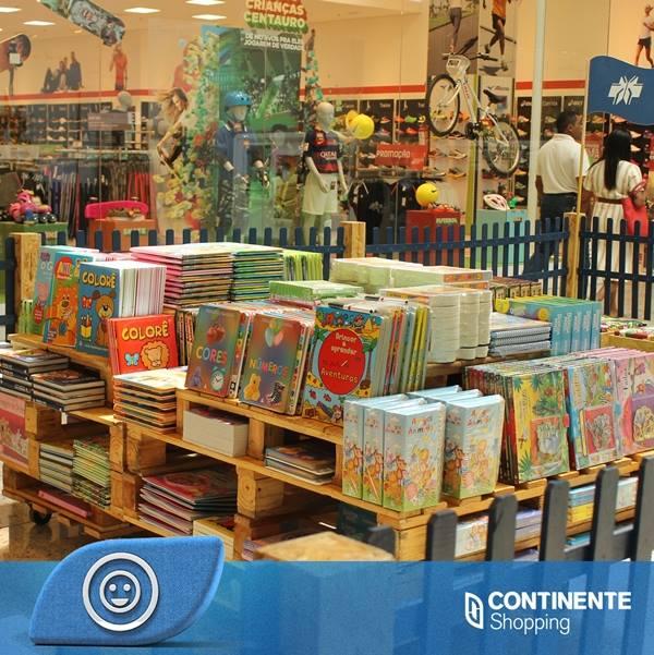Feira do Livro Infantil oferece cerca de cinco mil livros