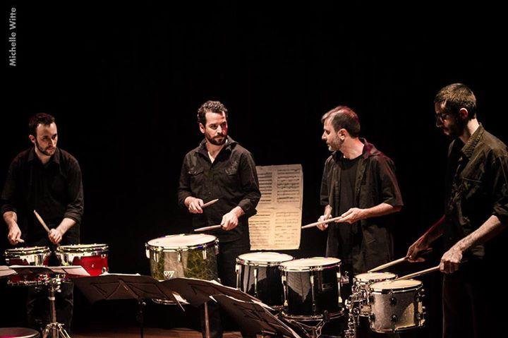 Abertura da série de Concertos Didáticos do Grupo Livre de Percussão (GLiP)