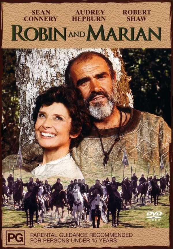 """Mostra de filmes com Audrey Hepburn exibe """"Robin e Marian"""" (1976)"""