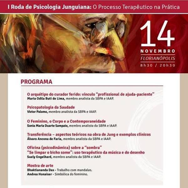 I Roda de Psicologia Junguiana: O Processo Terapêutico na Prática