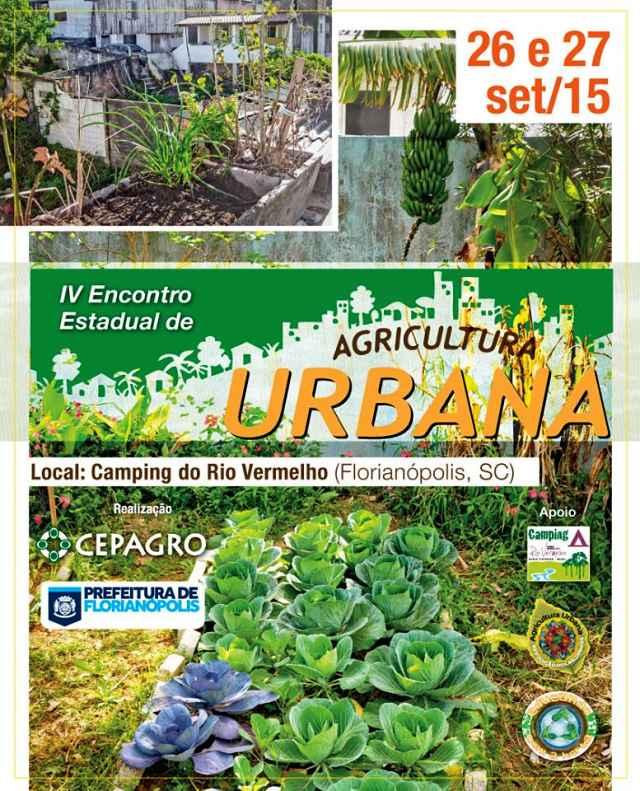 4º Encontro Estadual de Agricultura Urbana