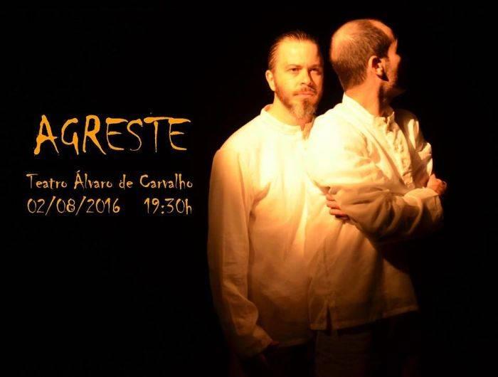 "Espetáculo ""Agreste"", com Rafael Zanette e Dilmo Nunes"