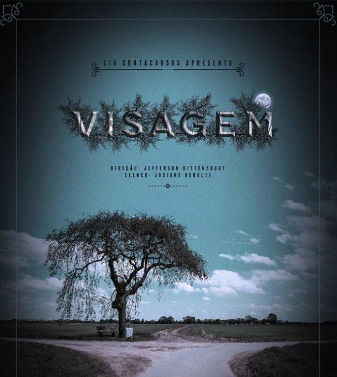 """Espetáculo """"Visagem"""", com Cia ContaCausos - 22º Festival Isnard Azevedo"""