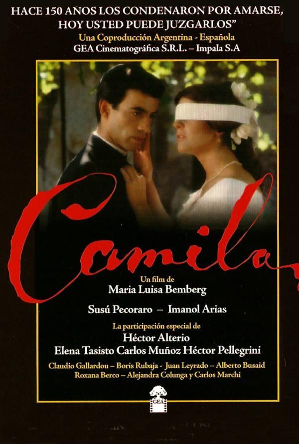 "CineBuñuel exibe ""Camila"" (Argentina, 1984), de Maria Luisa Bemberg"