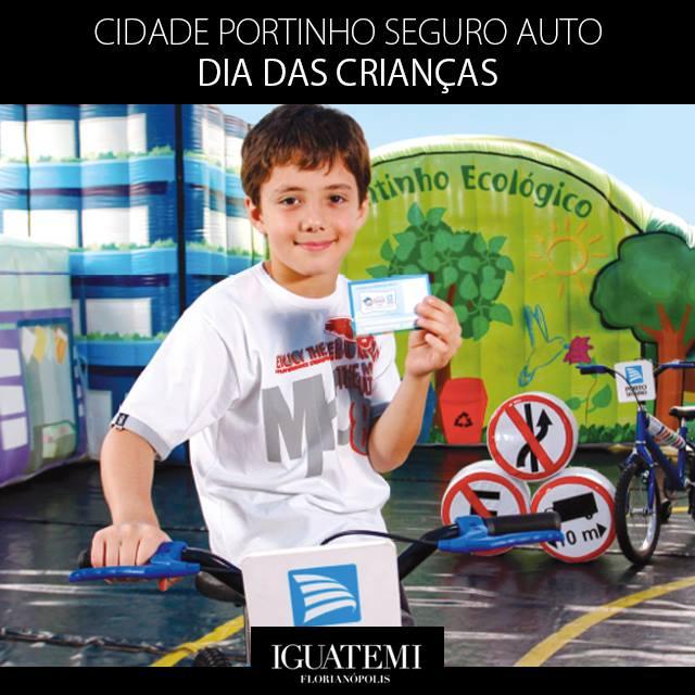 """""""Cidade Portinho Seguro Auto"""" ensina regras de trânsito para crianças"""