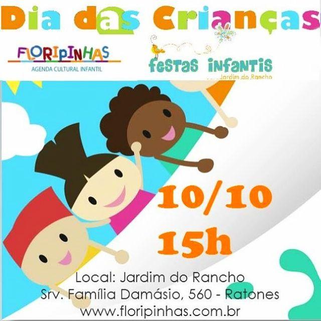 Dia das Crianças do site Floripinhas