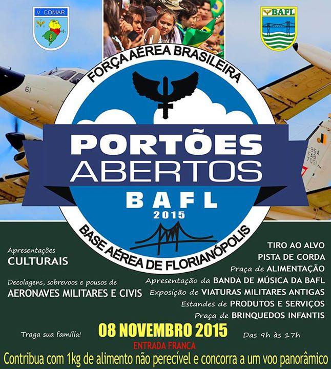 Portões Abertos da Base Aérea de Florianópolis 2015