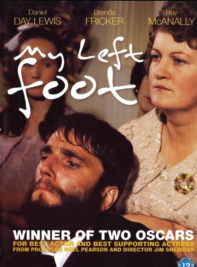 """Cinema, Chá & Cultura exibe """"Meu pé esquerdo"""" (1989) de Jim Sheridan"""