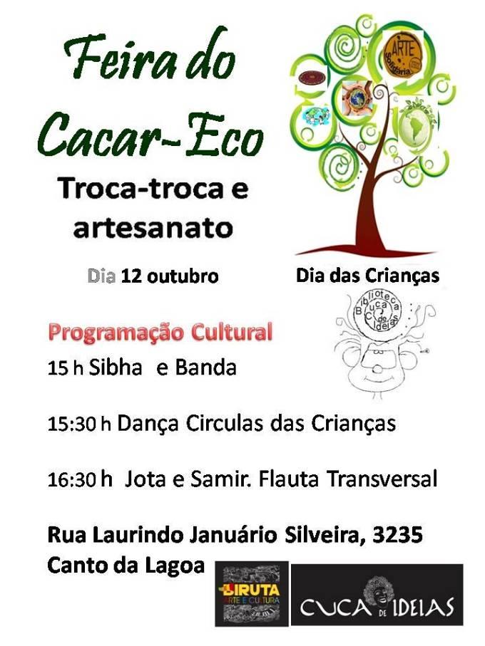 Feira do Cacar-Eco - festa do Dia das Crianças