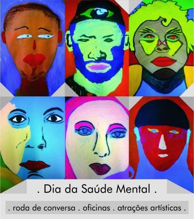 1º Dia da Saúde Mental comemorado com oficinas, bate-papo e atrações artísticas