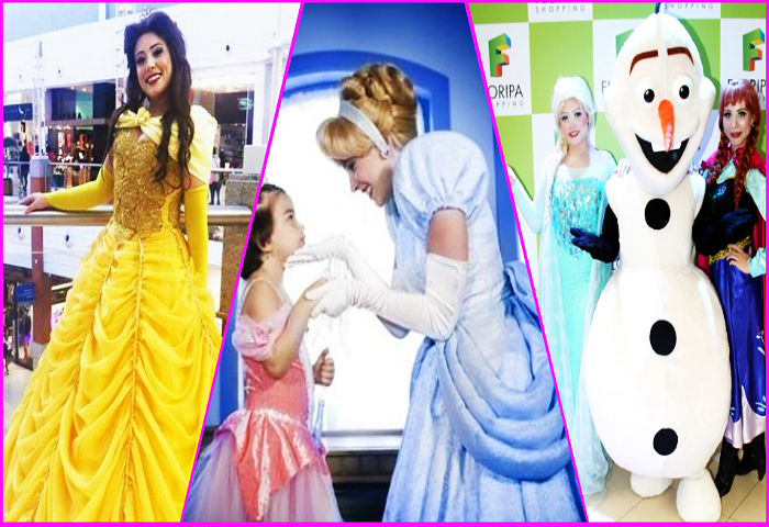 """""""Encontro de Princesas"""" em comemoração ao Dia das Crianças"""