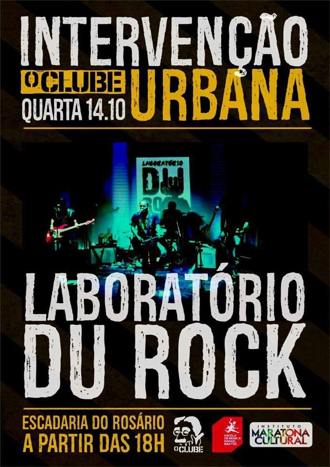 Intervenção Urbana com Laboratório Du Rock - CANCELADO