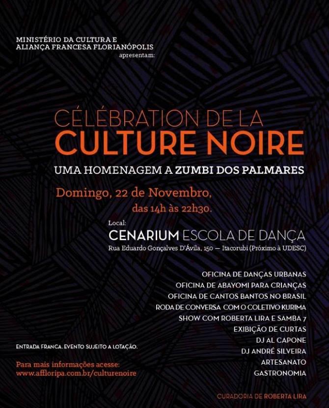 """Célébration de la Culture Noire"" - Celebração da Cultura Negra"