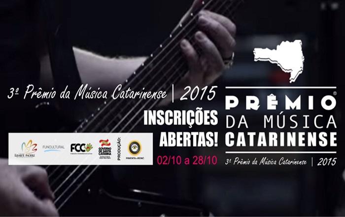 3º Prêmio da Música Catarinense