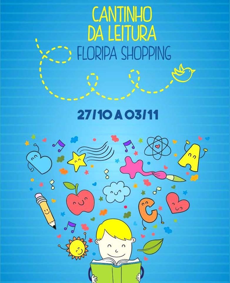 Cantinho da Leitura, com contação de histórias e oficinas de pinturas para crianças