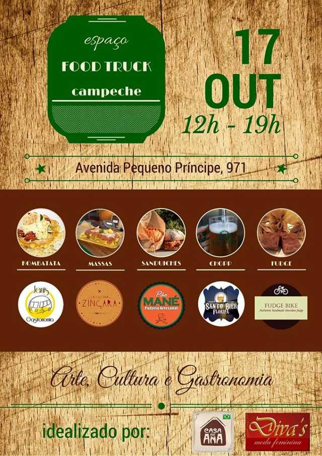 3º Espaço Food Truck Campeche - edição especial BRUXAS DA ILHA