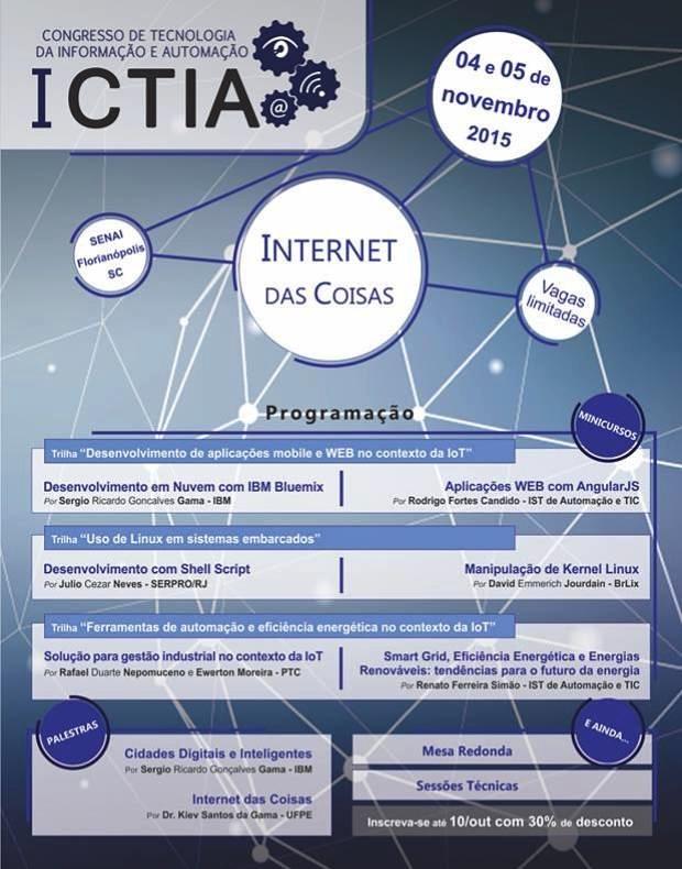 I CTIA - Congresso de Tecnologia da Informação e Automação