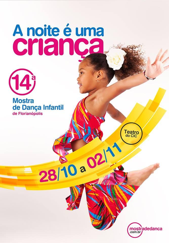 A Noite É uma Criança – 14ª Mostra de Dança Infantil de Florianópolis