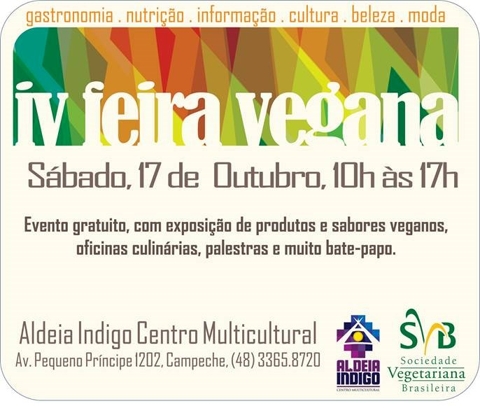 IV Feira Vegana Aldeia Indigo
