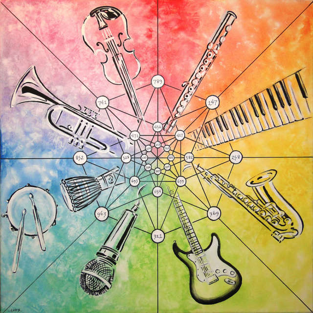 """""""Frequência 432Hz"""", um concerto para ouvir no escuro com instrumentos afinados na frequência do universo"""