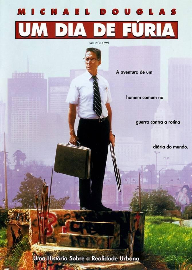"""Cineclube Badesc exibe """"Um dia de fúria"""" (Falling Down, 1993) de Joel Schumacher"""