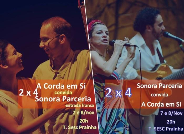 Sonora Parceria convida A Corda Em Si para show gratuito