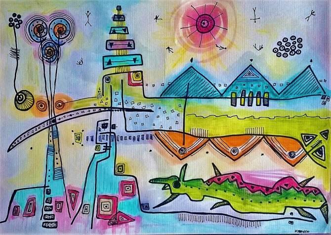 17ª Feira de Artes de Florianópolis celebra a arte de rua e a chuva