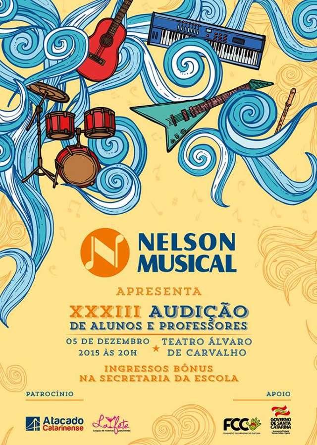 XXXIII Audição dos Alunos e Professores da Escola Nelson Musical Center