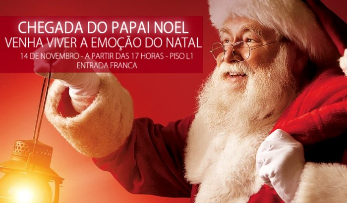 Papai Noel no Shopping Iguatemi