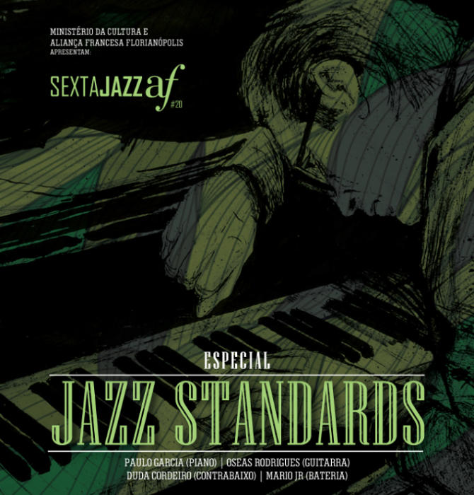 Sexta Jazz AF de novembro apresenta repertório clássico de Jazz Standards