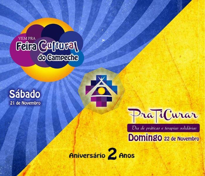 Comemoração dos 2 anos da Aldeia Indigo com Feira Cultural do Campeche & PraTiCurar
