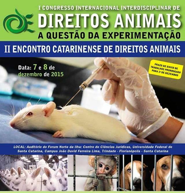 I Congresso Internacional Interdisciplinar de Direitos Animais