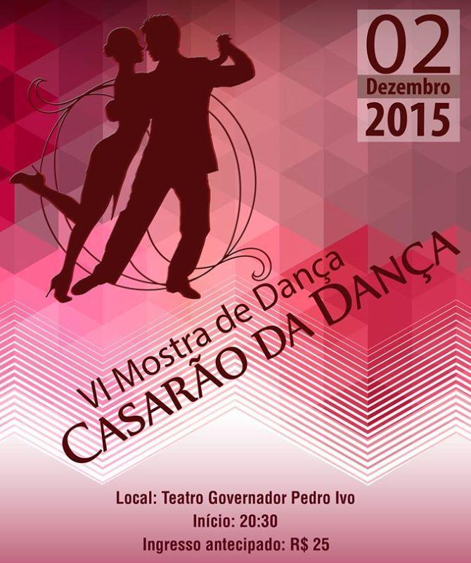 VI Mostra de Dança do Casarão da Dança