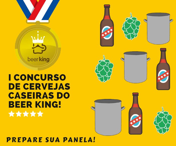 1º Concurso de Cervejas Caseiras do Beer King