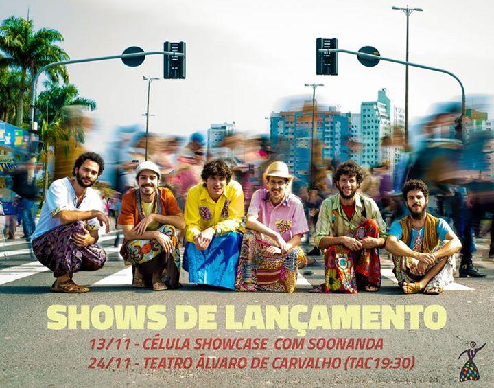 Show de lançamento do CD do grupo Caraudácia no projeto TAC 7:30