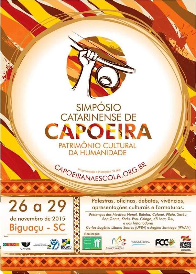 I Simpósio Catarinense de Capoeira